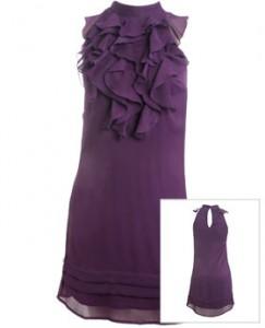 ruffle dress by Wet Seal