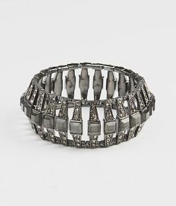 Deco Pave stretch bracelet with jeans or a dress a cool vintage inspired bracelet $ 59 at Ann Taylor.com
